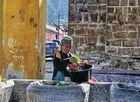 Lavando la verdura Antigua/Guatemala