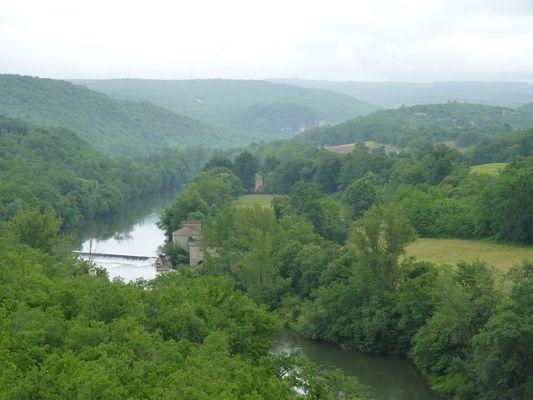 L'Aveyron de Montricoux à Bruniquel