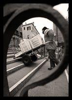 *Lavoro in Venezia 4 (Facchini con carelli)*
