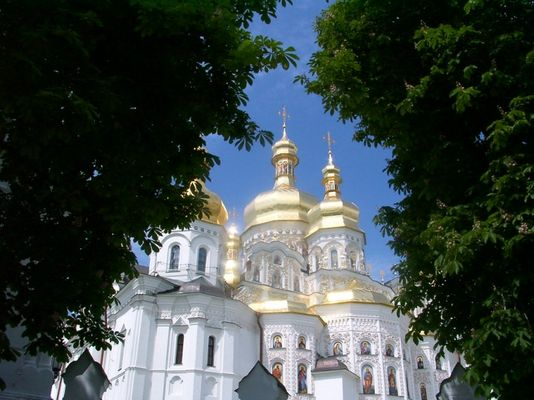 Lavra-Kloster, Kiev, Ukraine, Mai 2002