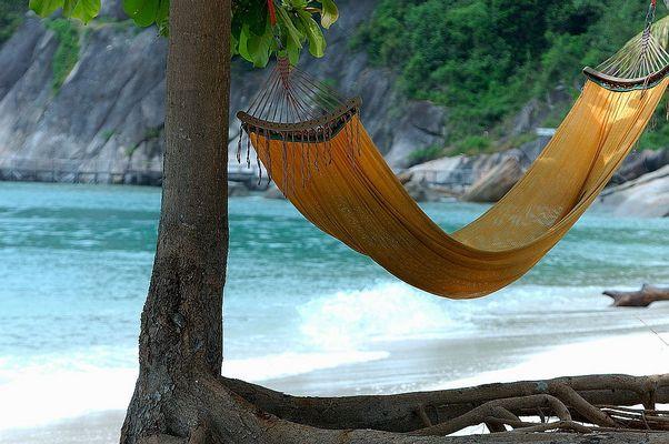 lazy beach life