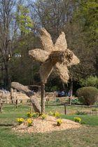 LB Blühendes Barock-Strohskulpturen 2