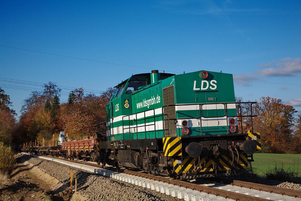 LDS mit BR 293 ex. DR V100