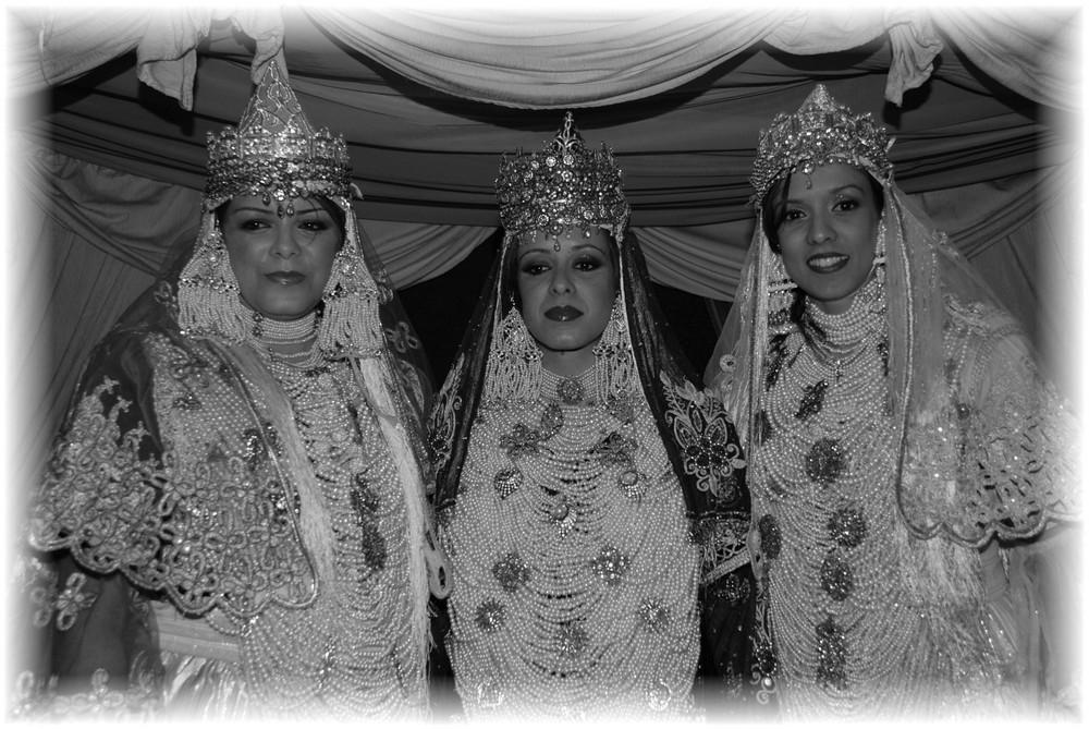Le 3 spose Algerine.