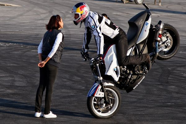 Le baiser du motard