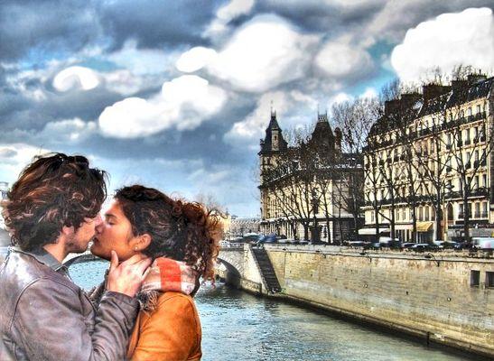 Le baiser volè
