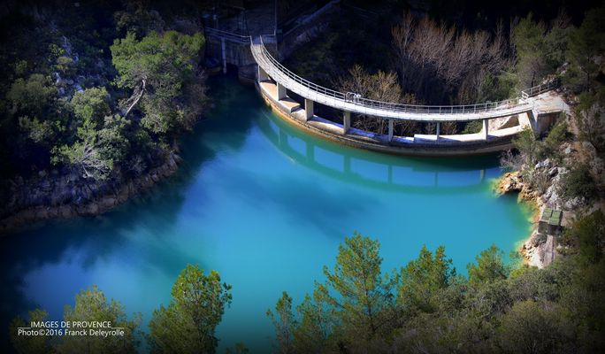 Le barrage Zola (Aix-en-Provence)