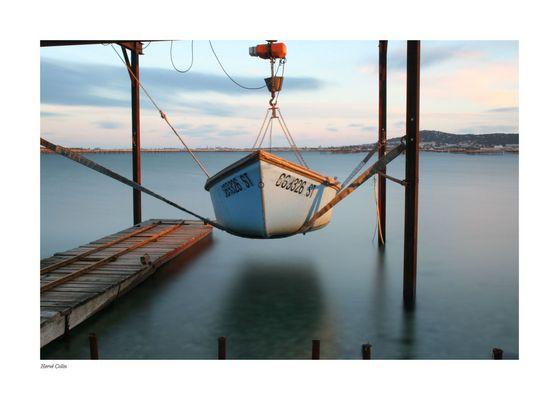 Le bateau suspendu