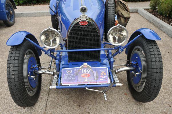 Le bleu Bugatti !