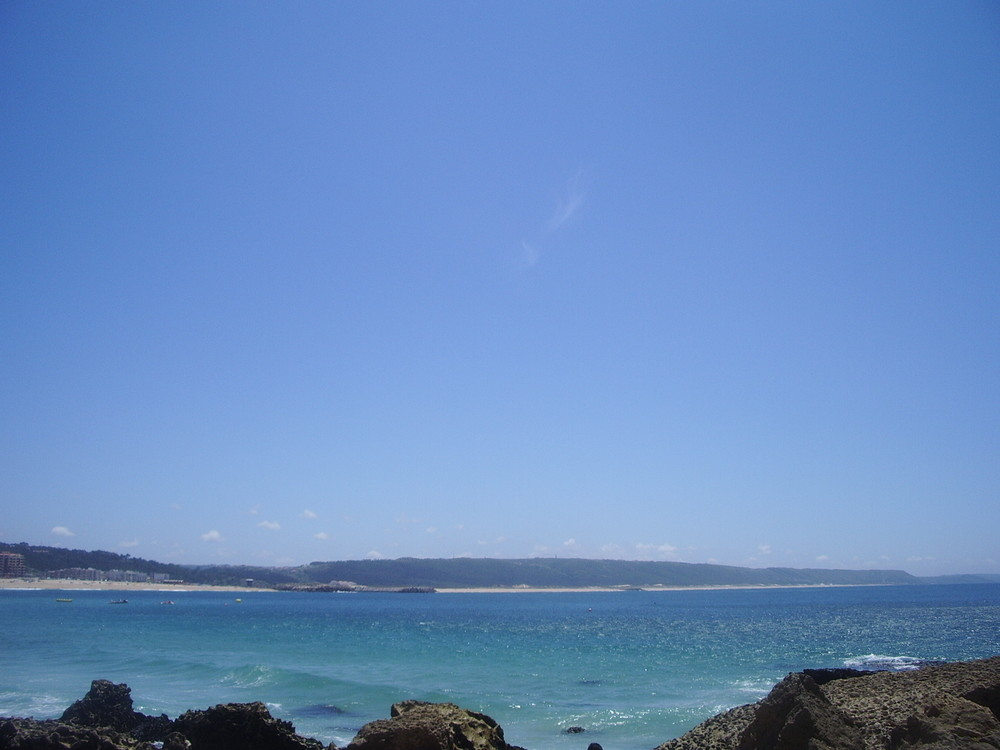 Le bleu de l'océan
