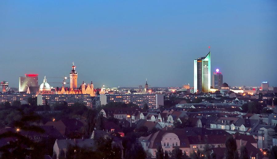 ..::[L.E. - Blick über Südvorstadt auf Innenstadt]::..