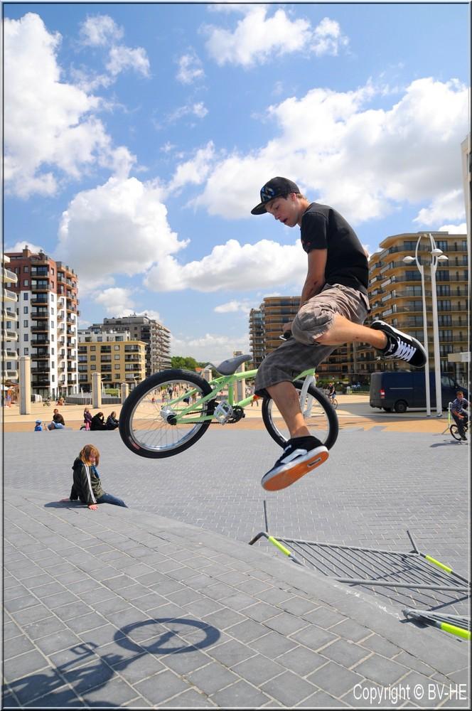 le BMX de Luka