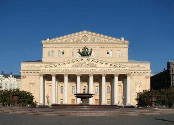 Le Bolchoï de la Russie. Moscou