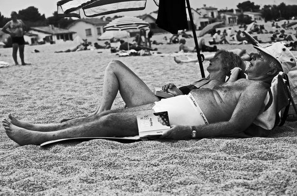 Le bonheur est...sur la plage ...