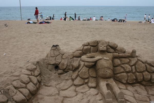 le bonhomme des sables