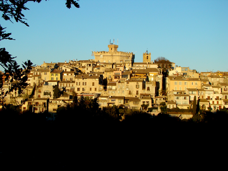 Le bourg de Cagnes sur Mer - das Dorf