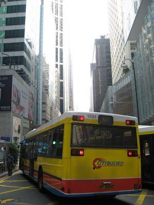 Le bus, Hong Kong