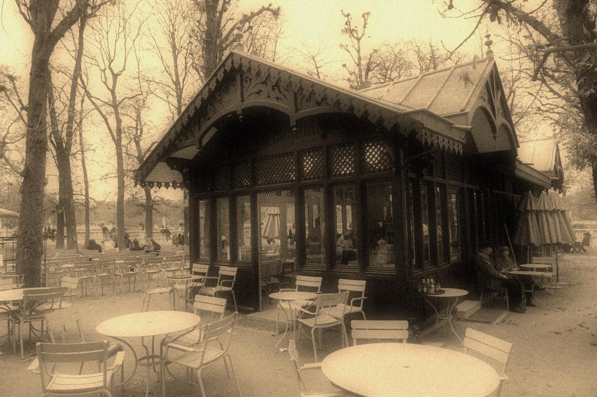 Le café du Luxembourg