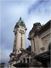 Le campanile de la gare de Limoges-Bénédictins