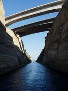 Le Canal de Corinthe, Grèce