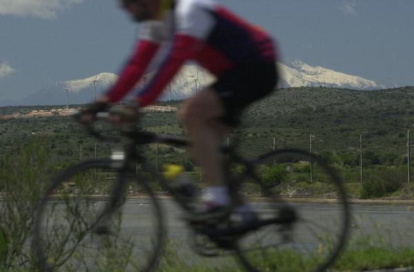 Le Canigou à vélo