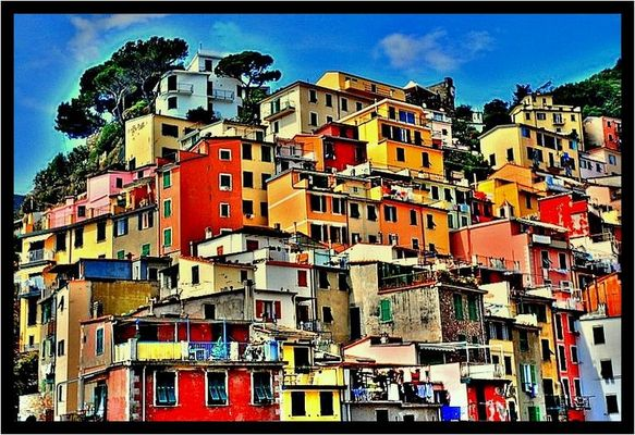 Le case di Riomaggiore