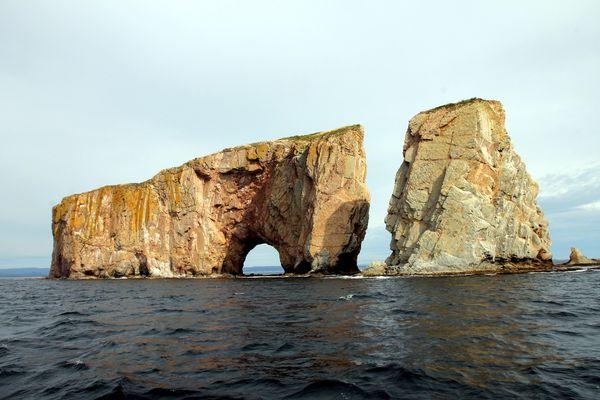 le célèbre rocher de Percé