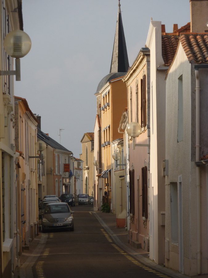 le centre de La Chaume