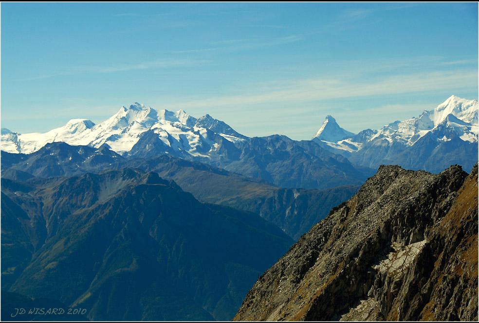....Le Cervin, symnbole de la Suisse....