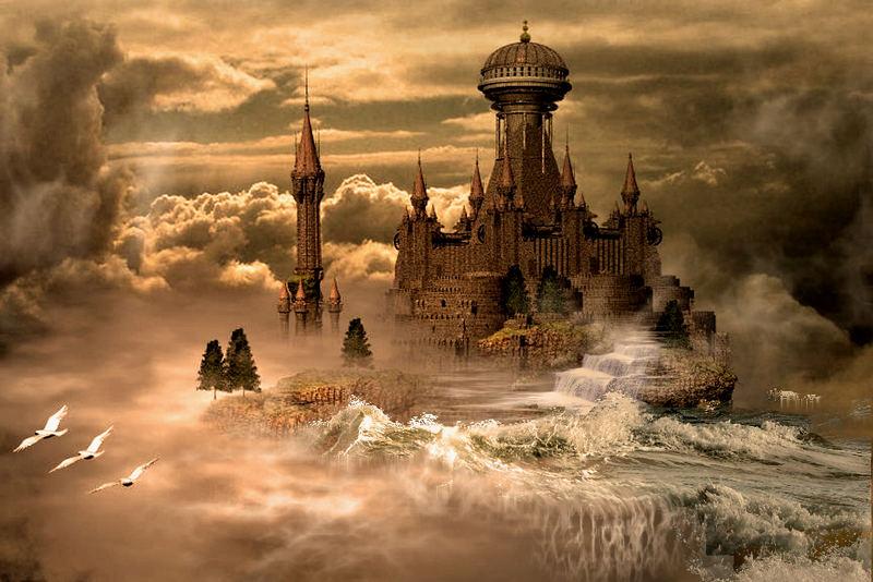 le chateau dans les airs