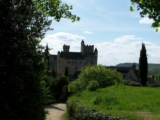 le chateau de Beynac (Dordogne)