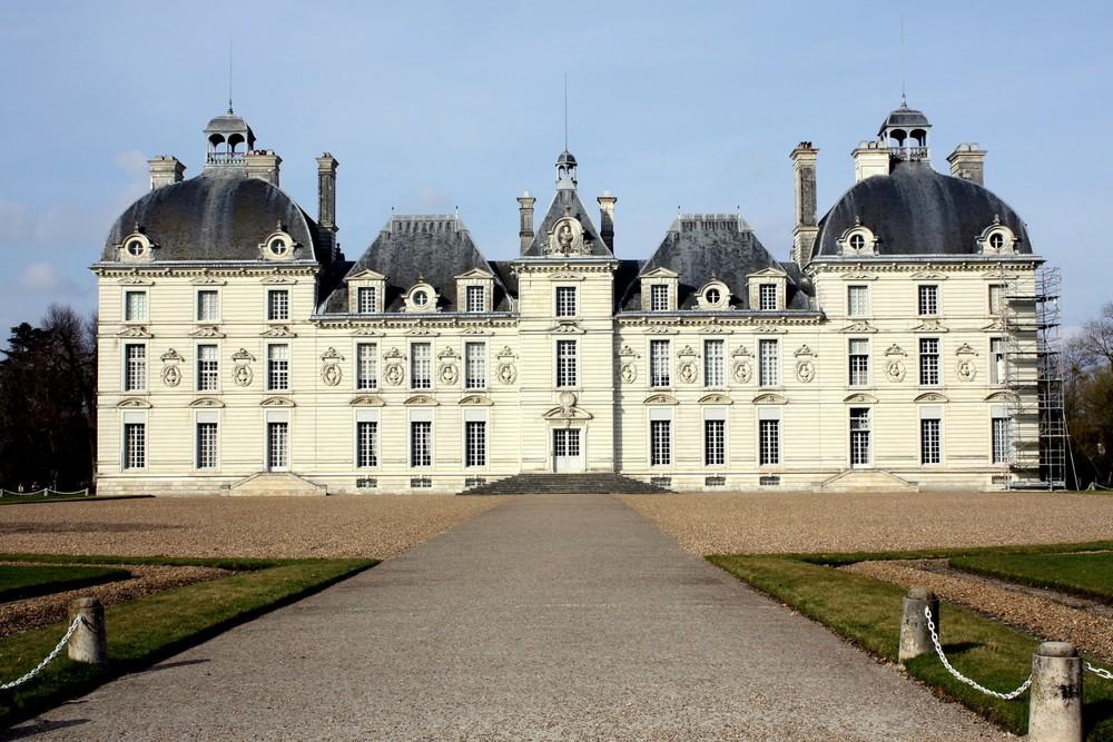 Le chateau de moulinsart alias cour cheverny 41 photo et image europe f - Le chateau de moulinsart ...