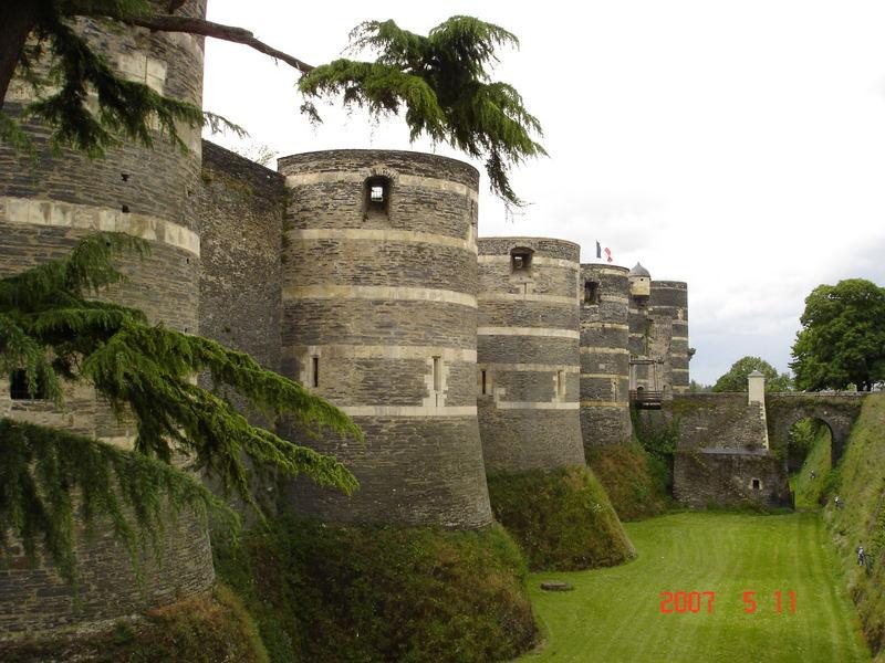 Le Chateau du Roi René à Angers