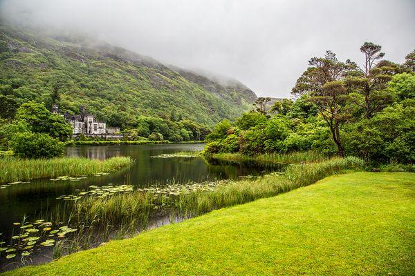 Le chateau en Irlande.