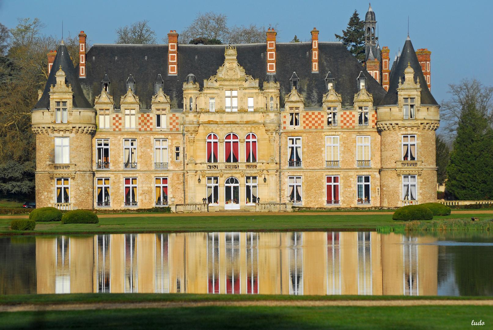 le chateau et son parc