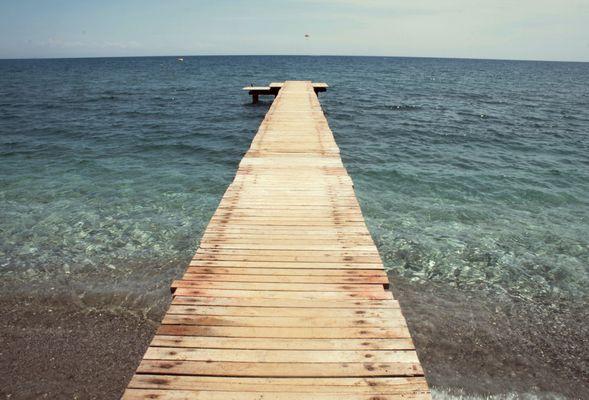 Le chemin qui mène à la mer