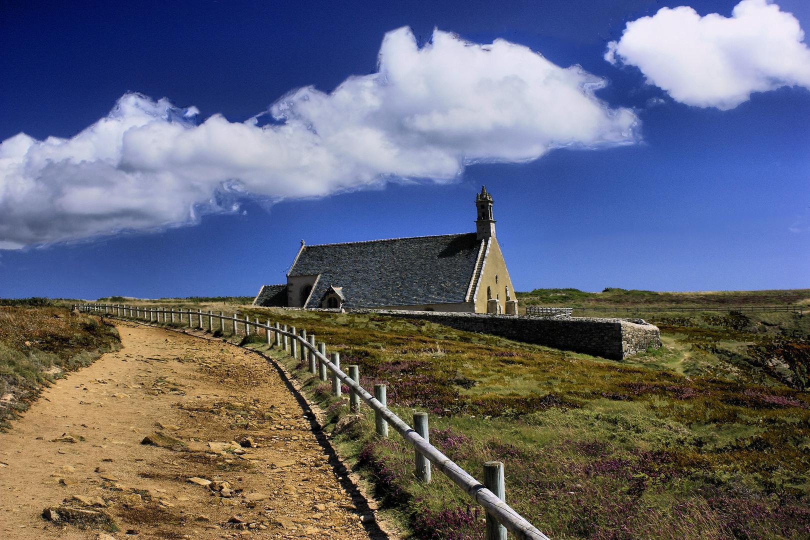 Le chemin vers la Chapelle