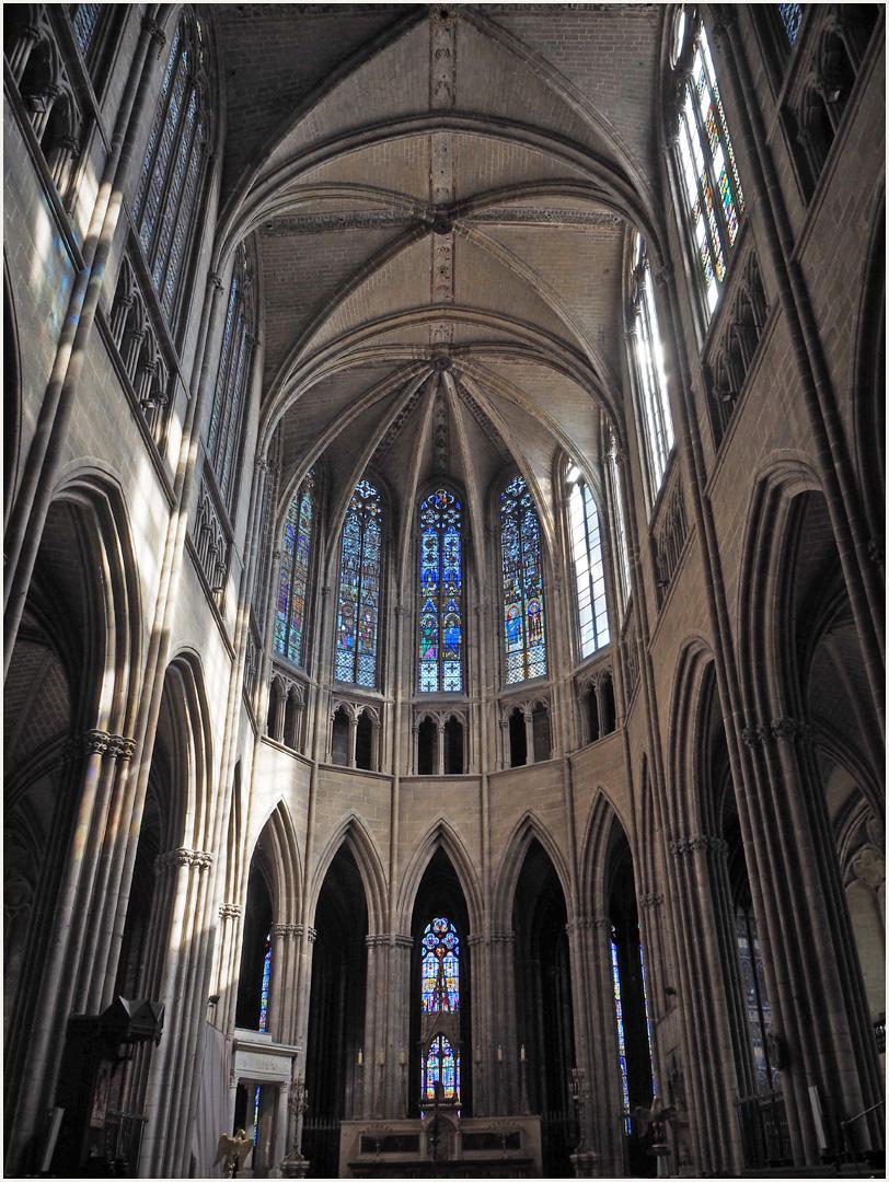 Le choeur de la Cathédrale Saint-Etienne de Limoges