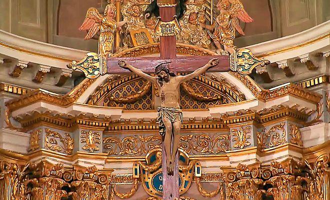 Le  Christ  cathédrale saint Michel