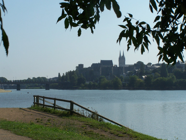 Le château d'Angers et la cathédrale