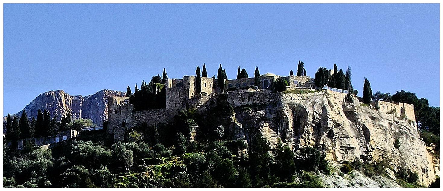 Le château de Cassis