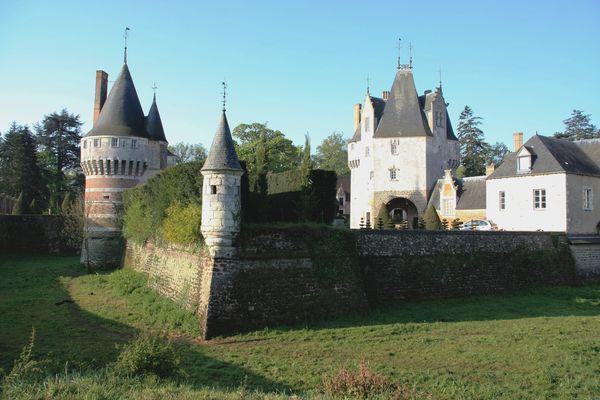 Le Château de Frazé dans le Perche