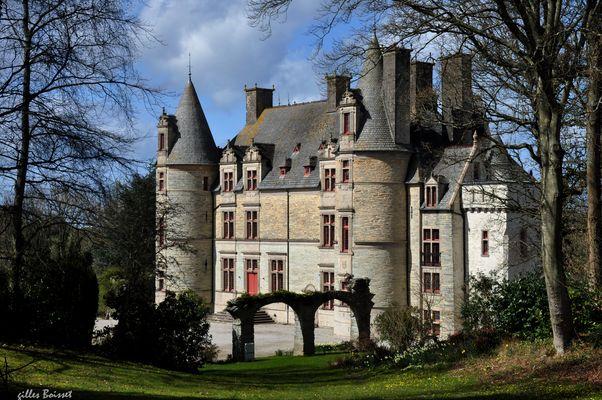 le château de la Belle au bois Normand