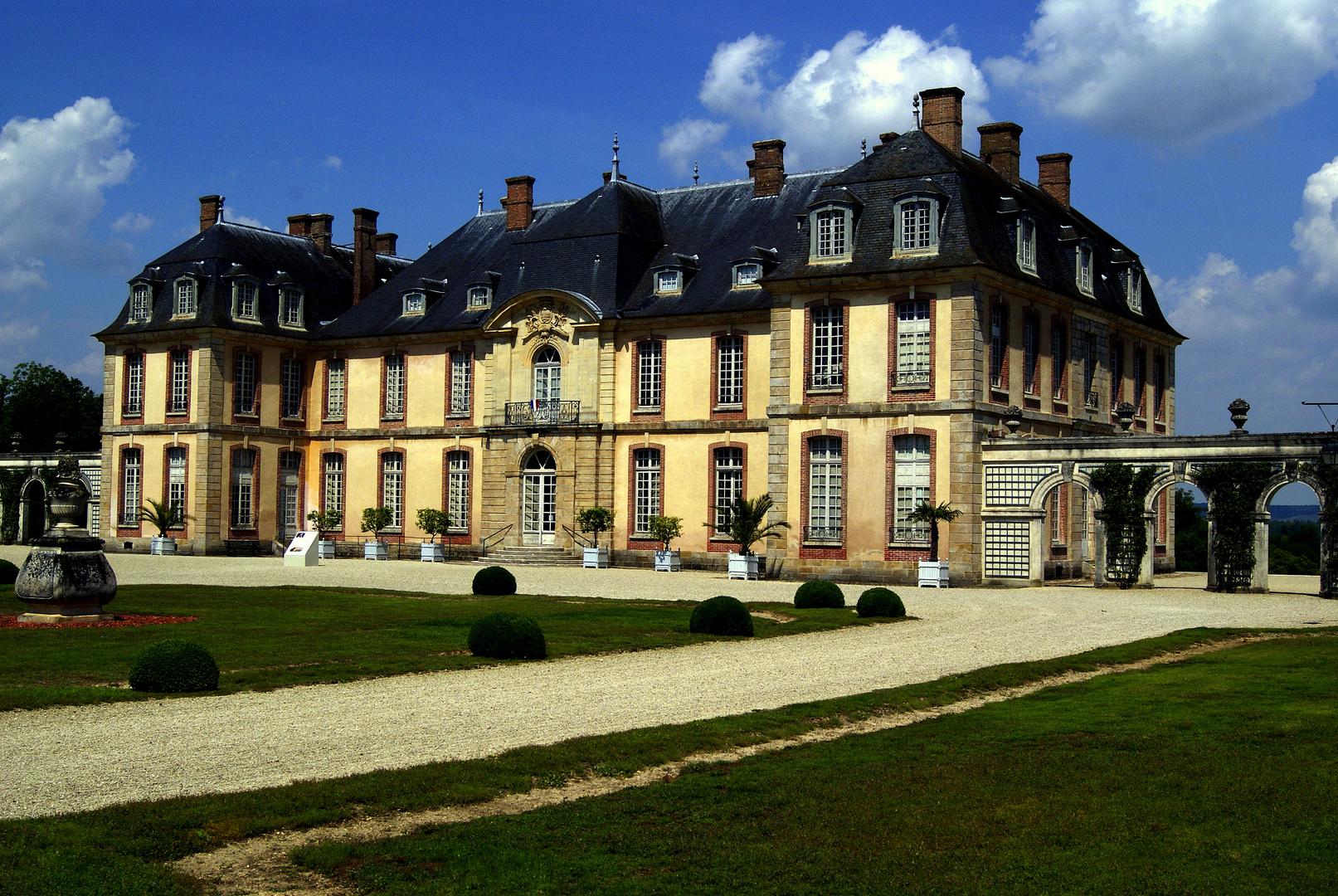 le château de La Motte Tilly, Aube