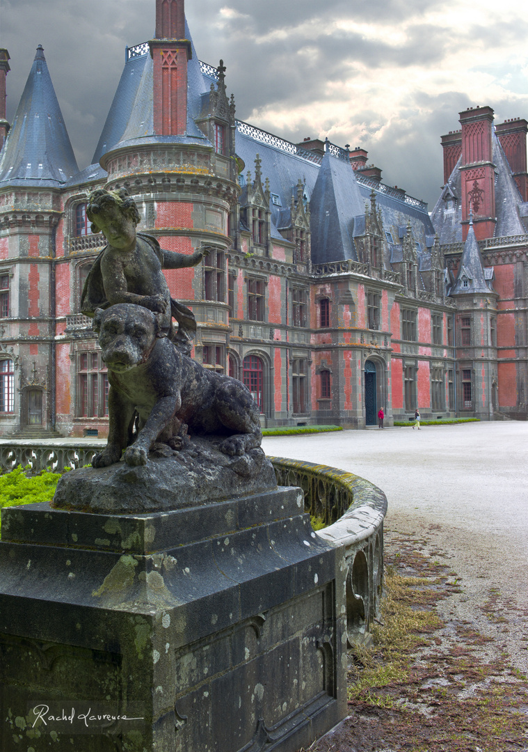 Le Château de Trévarez, Finistère, Bretagne