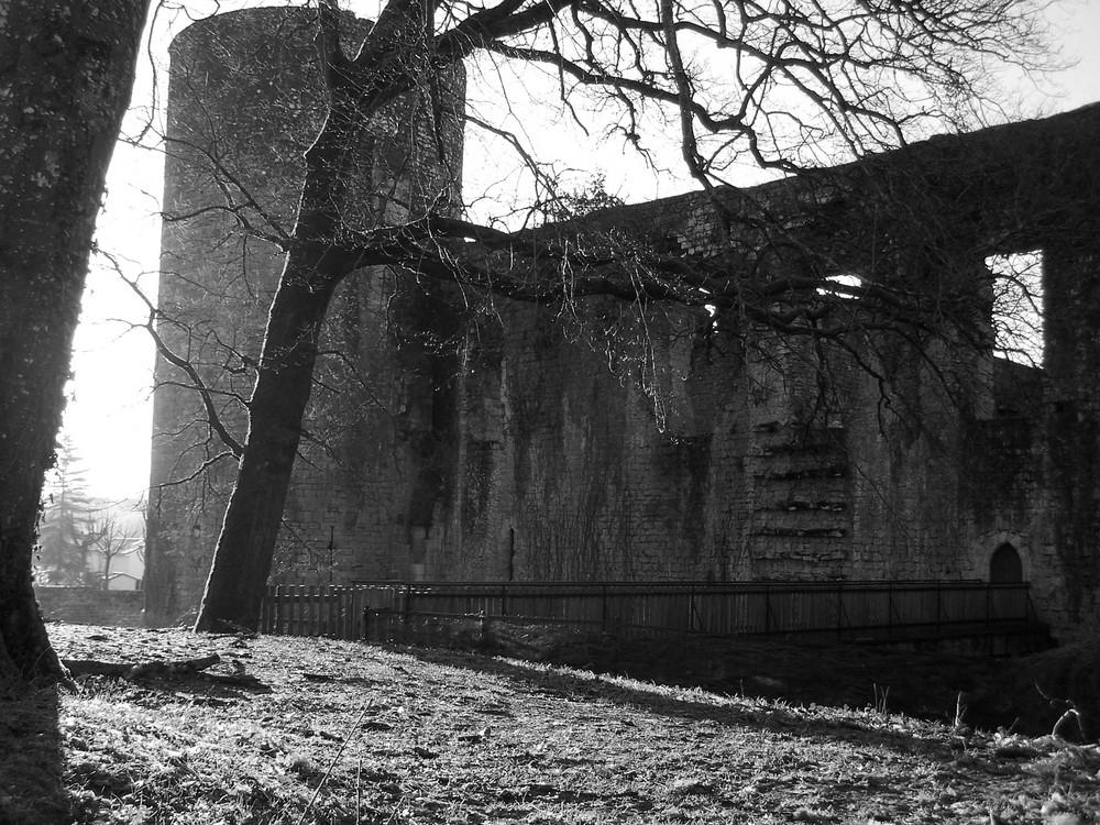 Le château de Villandraut...