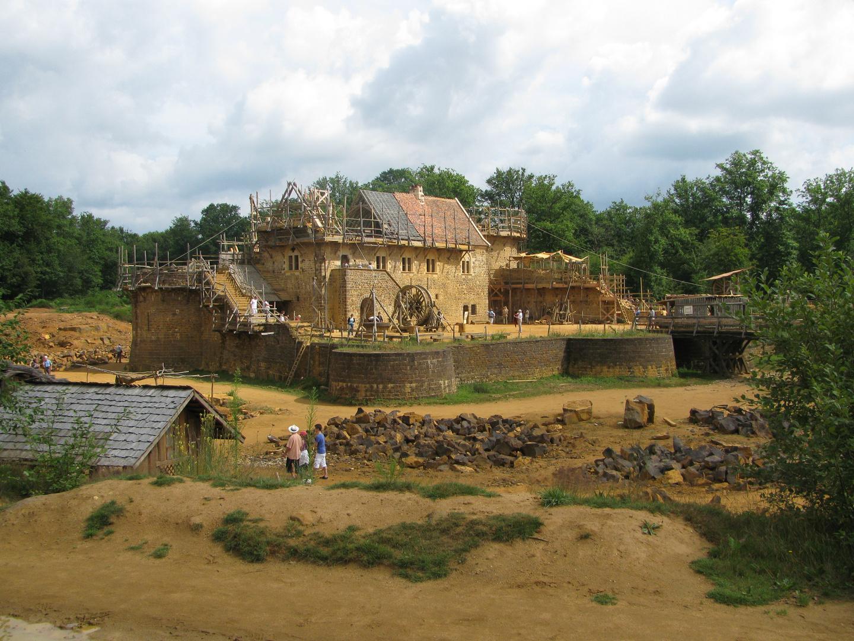 Le château médiéval de Guédelon
