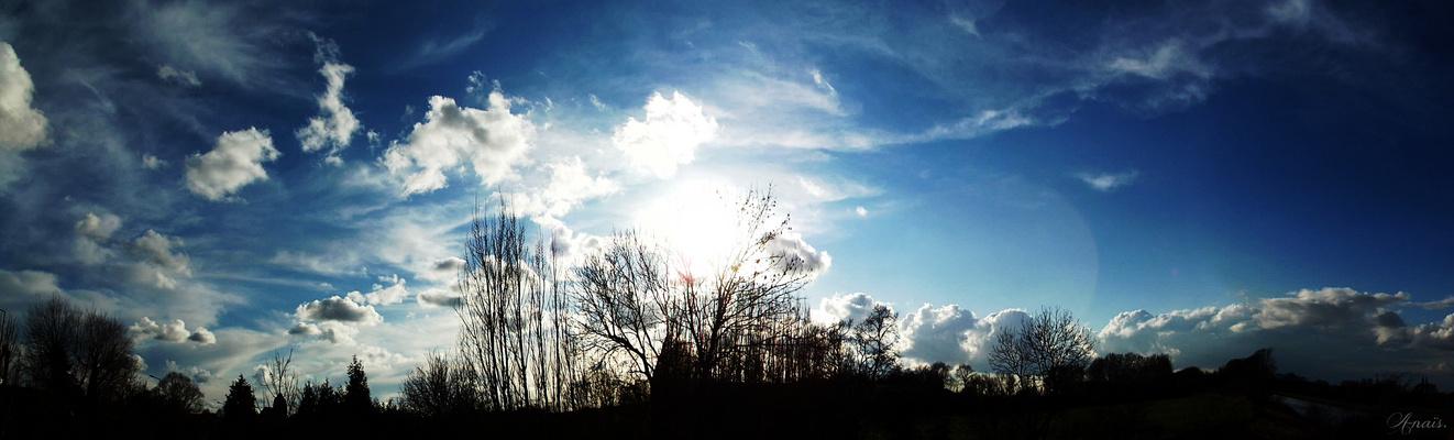 « Le ciel est le pain quotidien des yeux.  »