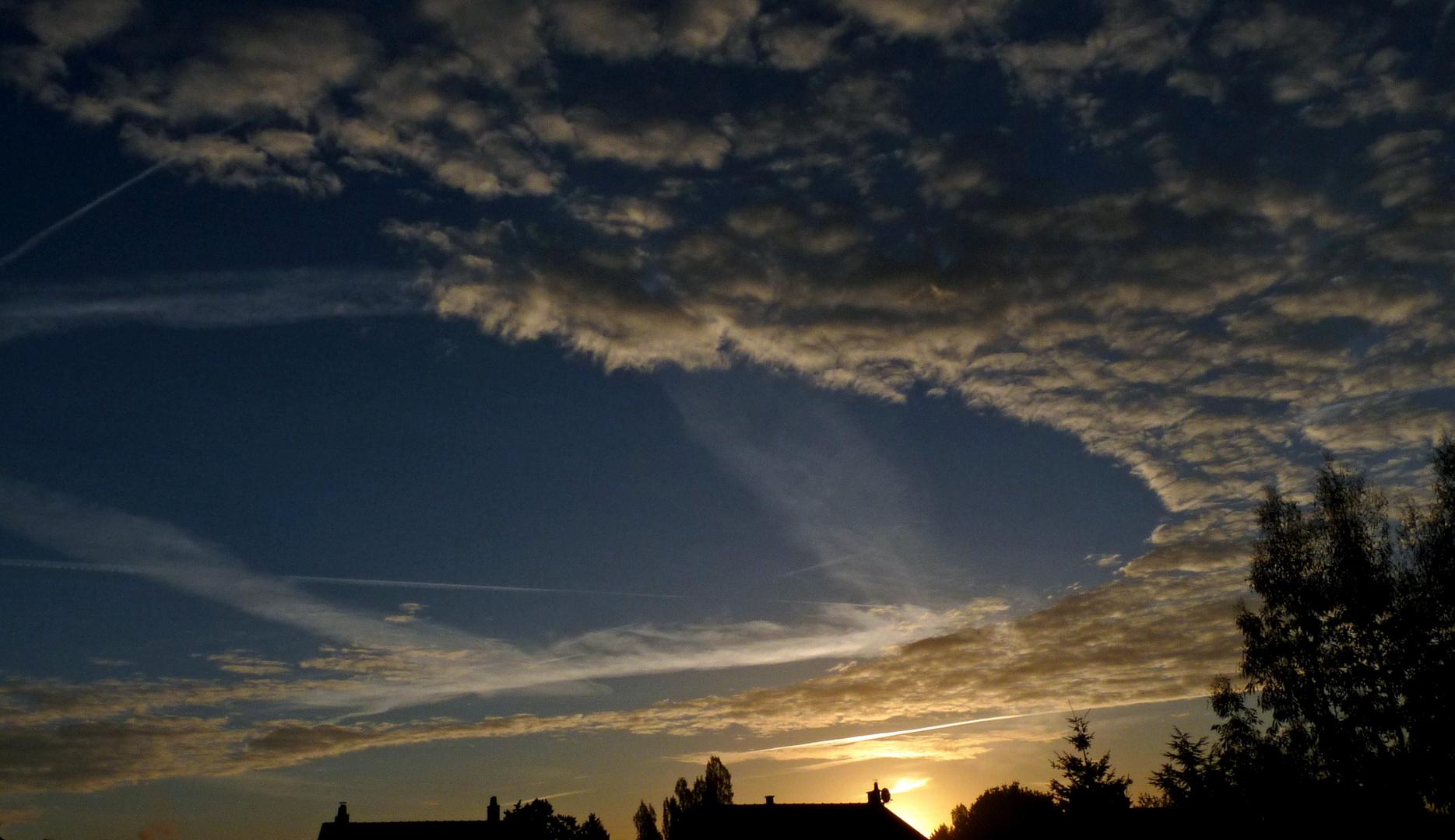 Le ciel est par-dessus les toits....