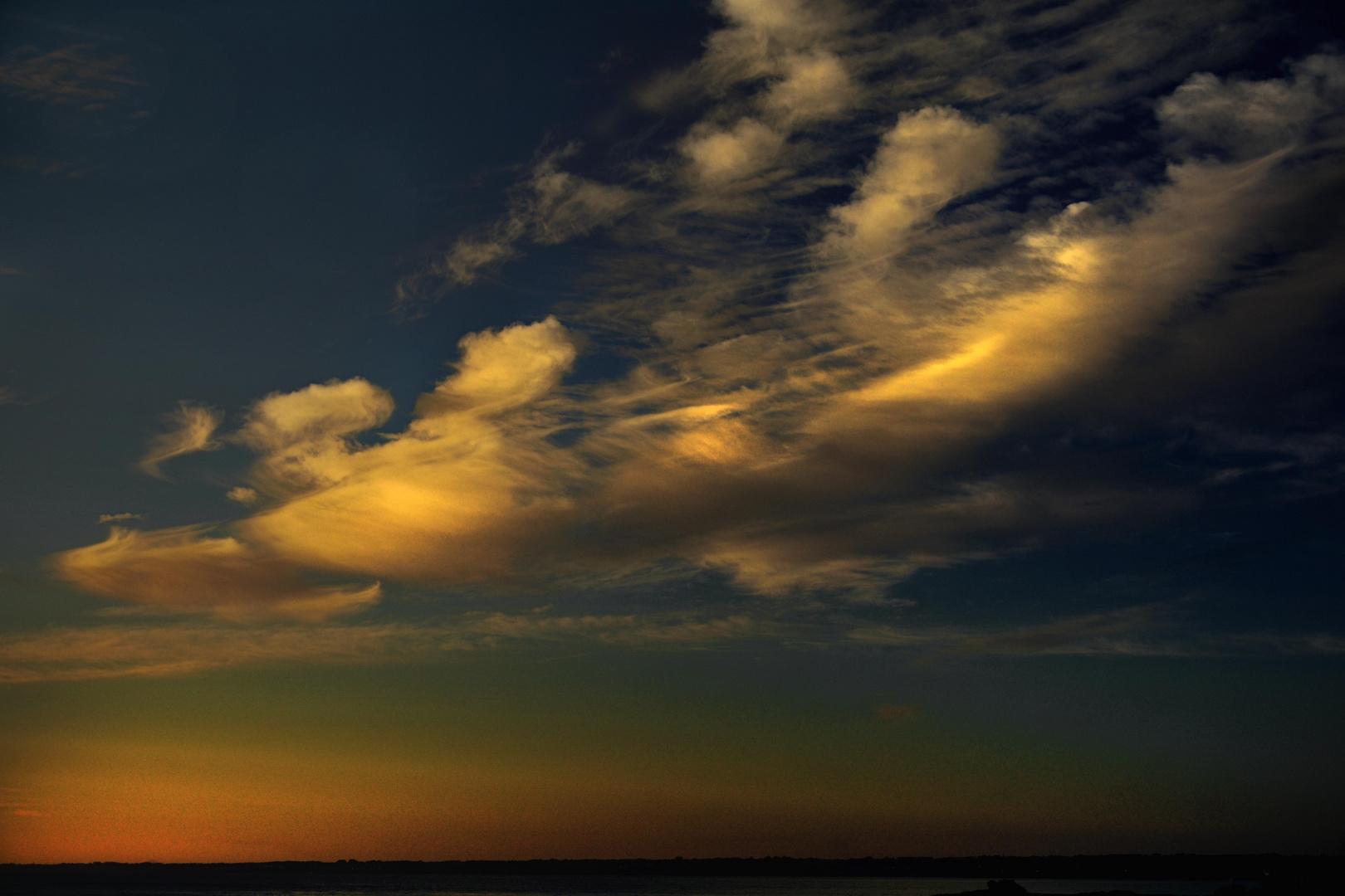 Le ciel fait encore des siennes